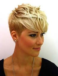 Pixie Cut Hairstyle hairstyle for 2014 trendy short blonde pixie cut with bangs for 6473 by stevesalt.us