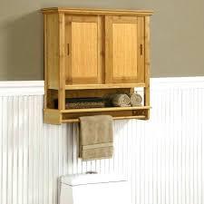 cabinet door towel rack bathroom wall storage metal bar with dark chocolate wire basket shelf w x rod organizer sto