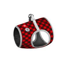 """Шлейки для <b>собак</b> WAUDOG """"Шотландка красная"""" – <b>мягкая шлея</b> ..."""