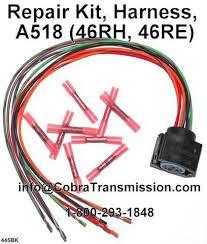 solenoid, sensor , cobra transmission Dodge Transmission Wiring Harness 12445bk, repair kit, harness, a518 (46rh, 46re) dodge caravan transmission wiring harness