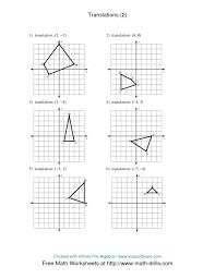 Translation Worksheets Geometry Worksheets for all | Download and ...