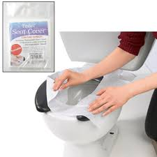 Disposable Toilet 10 Disposable Toilet Seat Covers Paper Travel Biodegradable