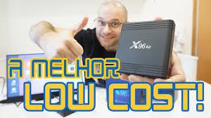 A MELHOR Android TV Box LOW COST !!! X96 Air unboxing e review em  português! - YouTube