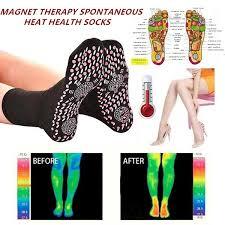 Comfortable And Breathable FIR <b>Tourmaline Magnetic Socks Self</b> ...