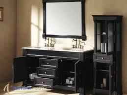 Distressed Bathroom Cabinet Black Bathroom Cabinets For Modern Bathrooms Anoceanviewcom