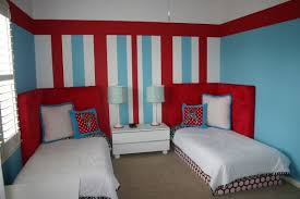 decorating ideas red bedroom walls