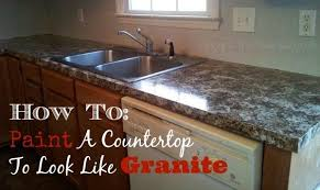 painting formica countertops to look like granite elegant your is easy and with regard 1