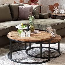 reclaimed wood round coffee table decorations com regarding decor plan 4