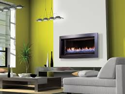 ... Natural Gas Insert Fireplace Vent Free Gas Fireplace With Style Stacked  Stone Fireplace Corner ...