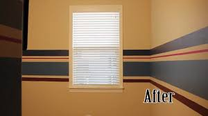 Stripe painted walls Interior Youtube How To Paint Wall Stripes Nesting The Nursery Youtube