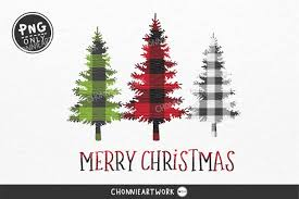 Merry Christmas Png Christmas Pine Tree Graphic By Chonnieartwork Creative Fabrica