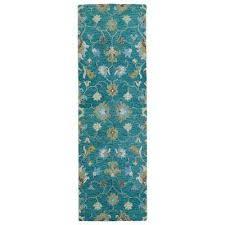 helena turquoise 3 ft x 8 ft runner rug