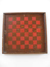 Antique Wooden Game Boards Antique Games Gameboards EBay 22