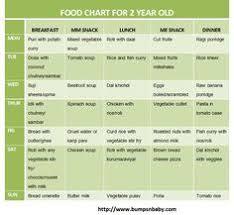 2years Old Baby Food Chart Baby Food Chart In Sri Lanka