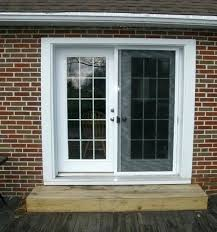 patio screen door sliding awe inspiring security doors repair replacement doo