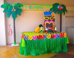 Resultado de imagen para mesa hawaiana