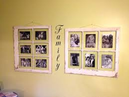 window pane picture frame diy a seashell shadow box with an old windowpane for display decorating