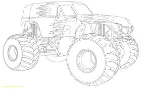 Monster Truck Sketch At Paintingvalleycom Explore Collection Of