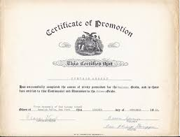 certificate of promotion template promotion certificate template free printable sunday school