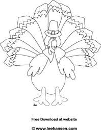 Small Picture Funny Thanksgiving Turkey Coloring Page