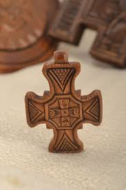 next to skin amulets handmade wooden cross necklace wooden jewelry spiritual gifts souvenir ideas