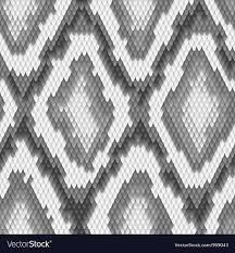 Snake Skin Pattern Fascinating Seamless Python Snake Skin Pattern Royalty Free Vector Image