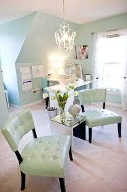 blue home office. Blue Home Office. Office Studio Of Katelyn James