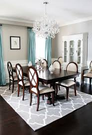 bistro dining room sets with traditional dark wood floor