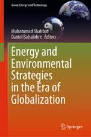 Energy and Environmental Strategies in the Era of Globalization |  SpringerLink