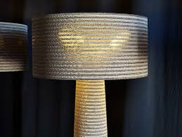 Fabbian's New Eco-Friendly Floor Lamps Are Made from 100% Recycled Cardboard