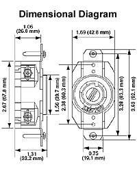2710  at Leviton 30 Amp 125 250 Volt Nema 14 30r Flush Wiring Diagram