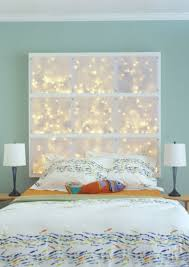 bedroom ideas christmas lights. Exellent Bedroom String Light DIY Ideas For Cool Home Decor  LED Headboard Are  Fun On Bedroom Ideas Christmas Lights