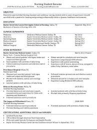 Student Nurse Resume. Nursing Resumes Examples Cardiac Nurse ...