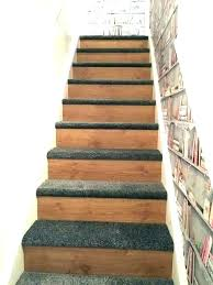 how to install vinyl plank flooring on stairs stair nosing installation do pictures nose installing floating
