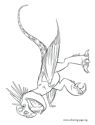 How To Train Your Dragon 2 Stormfly The Astrid S Dragon Coloring Page
