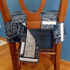 Kitchen Chair Back Covers Simpli Decor