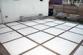 outdoor style backyard evolution part 2 modern patio construction within concrete pavers plans 8