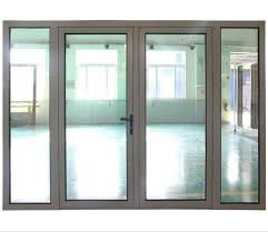 china powder coated sound proof heat insulated aluminium casement glass door acd 006 china powder codted aluminium casement door thermal break