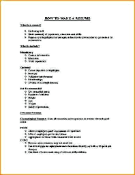 How To Make A Job Application Resume] 12 How To Make A Cv Fo .