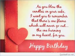 Happy Birthday Love Quotes Impressive Greeting Card Quotes For Love Love Quotes For Birthday Card Image