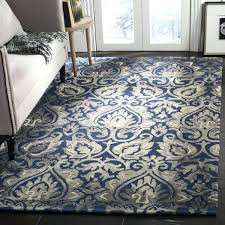 navy and grey area rug dip dye handwoven wool modern geometric navy grey area rug navy and grey area rug