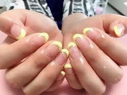 夏 フレンチ 奈良市 ネイルサロン Nail22 Nail22 爪に優しい弱酸性