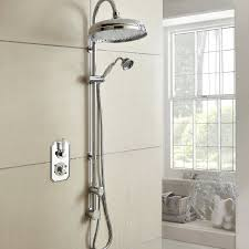 hudson reed topaz dual concealed mixer shower with shower kit fixed head