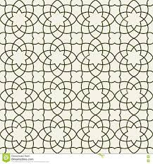 Naadloos Arabisch Behang Stock Illustrations Vectors Clipart