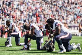 nfl agents reportedly say houston texans won t sign players who knelt during national anthem