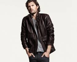 the leather er cole haan leather aviator jacket 391 25
