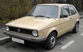 Volkswagen Golf Mk1 - Wikipedia