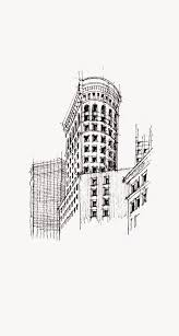 architecture sketch wallpaper. Exellent Wallpaper Flatiron Building NYC Sketch IPhone 6 Plus HD Wallpaper On Architecture E