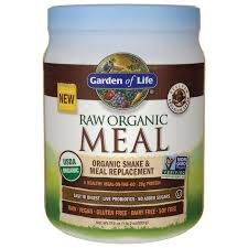 garden of liferaw organic meal shake meal replacement chocolate cacao