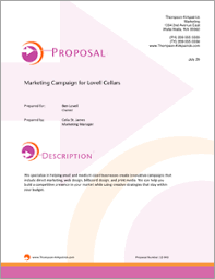 Marketing Campaign Services Sample Proposal 5 Steps